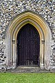 Church of St Andrew's, Boreham, Essex - Tyrell family vault doorway.jpg