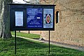 Church sign at Eastriggs - geograph.org.uk - 1167352.jpg