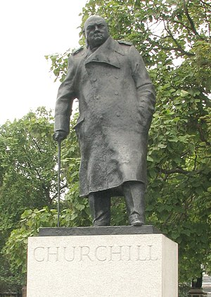 Ivor Roberts-Jones - Image: Churchill statue