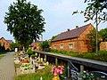 Cieszowa - widok z cmentarza w kierunku bramy. - panoramio.jpg