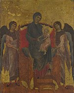 Cimabue, The Virgin and Child Enthroned with Two Angels.jpg