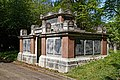 City of London Cemetery Anchor Road north side second Pedley family vault 3.jpg