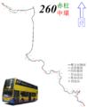Citybus260RtMap.png