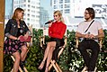 Clarke Wolfe, Emma Roberts and Henry Joost at 2016 San Diego Comic-Con.jpg
