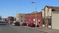 Clarkson, Nebraska E side of Pine Street.JPG