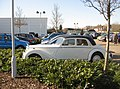 Classic car in Sainsbury's car park - geograph.org.uk - 1196935.jpg