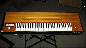 Clavinet - The Clavinet D6, the most popular model, introduced in 1971.