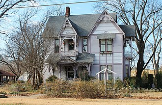 National Register of Historic Places listings in Fannin County, Texas - Image: Clendenen Carleton House 1