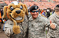 Cleveland Browns mascot Chomps with the National Guard.jpg