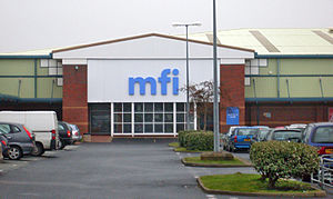 MFI Group - MFI store in Kew Retail Park, Southport