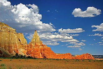 Kodachrome Basin State Park - Image: Clouds over Kodachrome Basin State Park