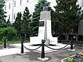 Cluj-Napoca-Piata Ștefan cel Mare-bustul,Gheorghe V. Avramescu-IMG 7102.jpg