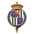 Coat of Arms of Louis Mountbatten, 1st Earl Mountbatten of Burma, KG, GCB, OM, GCSI, GCIE, GCVO, DSO, PC, FRS.png