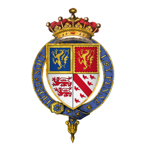 Battle of Northampton (1460) - Image: Coat of Arms of Sir John Talbot, 2nd Earl of Shrewsbury, KG
