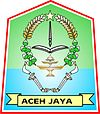 Coat of arms of Aceh Jaya Regency