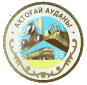 Aktogay District, Karaganda Region - Image: Coat of arms of Aktogay (Karagandy)