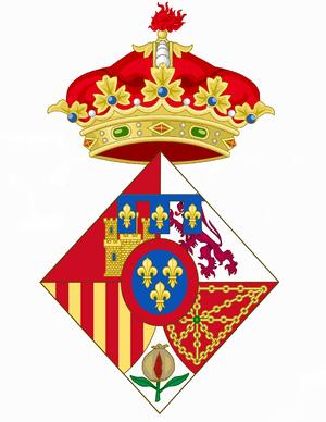 Leonor, Princess of Asturias - Image: Coat of arms of Infanta Leonor of Spain 2005 2014