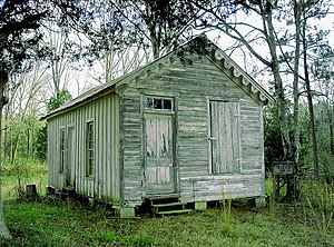 National Register of Historic Places listings in Sumter County, Alabama - Image: Coffin Shop at Gainesville Alabama