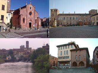 Melegnano - Image: Collage foto di Melegnano (MI)