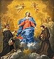 Collection Motais de Narbonne - L'Immaculée Conception entre saint Vincent Ferrier et saint Antoine de Padoue (c1740) - Donato Creti.jpg