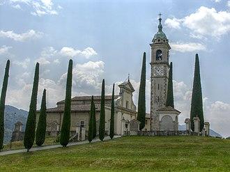 Collina d'Oro - Church of S. Abbondio