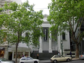 Joseph Reed (architect) - Image: Collins Street Baptist Church Melbourne