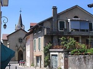 Collonges-sous-Salève - The church in Collonges-sous-Salève