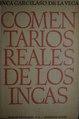 Comentarios reales de los Incas - Inca Garcilaso de la Vega (Tomo 2).pdf
