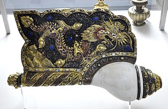 Conch (instrument) - Conch, Tibet (18th/19th century)
