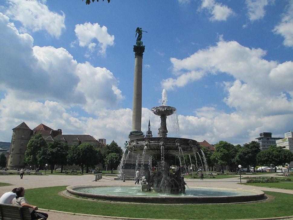 Concordia statue in Stuttgart(2)