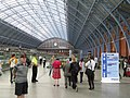 Concourse at St Pancras International Railway Station - geograph.org.uk - 1444904.jpg
