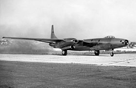 Convair XB-46 with engines running 061023-F-1234S-019.jpg
