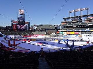 2016 NHL Stadium Series Outdoor ice hockey games