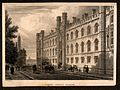 Corpus Christi college and the street life outside, Cambridg Wellcome V0012322.jpg