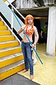 Cosplayer of Nami, One Piece at FF26 20150830a.jpg
