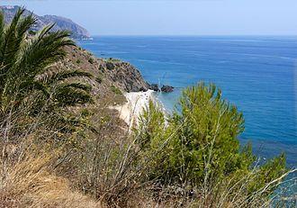 Costa Tropical - Landscape of the Costa Tropical near Salobreña.