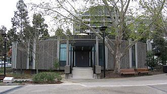 City of Bankstown - Bankstown Council Chambers adjacent to Paul Keating Park