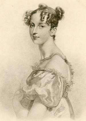Dorothea Lieven - Princess von Lieven line engraving by William Bromley, after a drawing by Sir Thomas Lawrence, published 1825; original in the Hermitage Museum