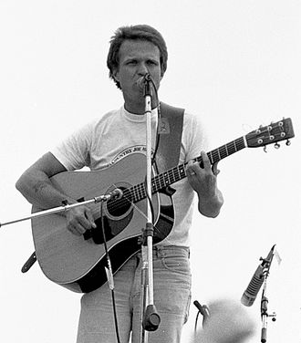 Country Joe McDonald - Country Joe McDonald performing at Parr Meadows 1979