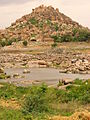 Countryside and Rock Formations Near Hampi - India.JPG