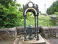 Covered drinking fountain in Nenthead - geograph.org.uk - 1605270.jpg
