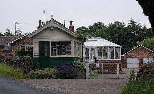 Coxwold railway station MMB 01