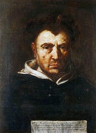 Tommaso Campanella - Tommaso Campanella depicted by Francesco Cozza