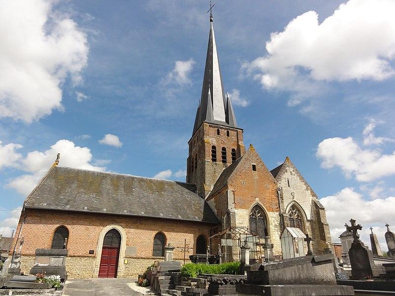 Crécy-sur-Serre (Aisne) église