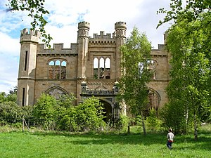 Springfield, Fife - Crawford Priory, near Springfield, was never a religious institution, but rather a residence belonging to the family of the Earls of Crawford