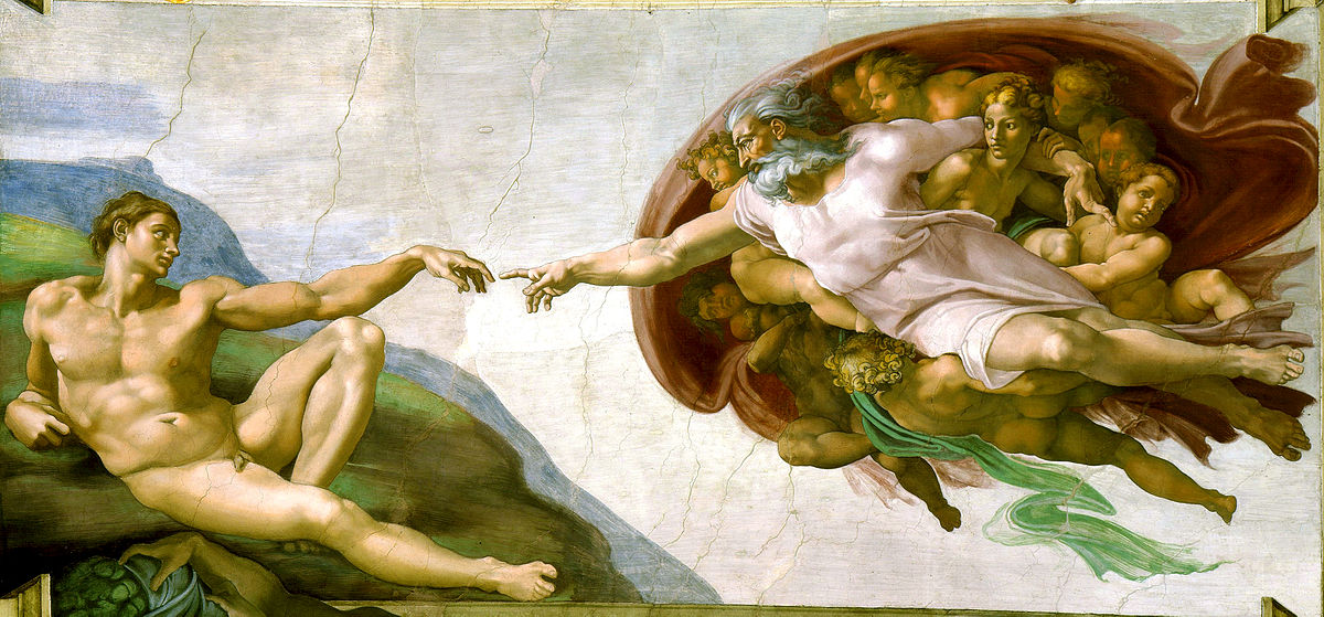 Image Result For Creation Of Adam