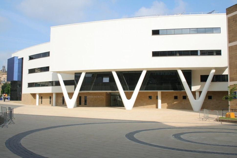 Creative Arts Building, University of Huddersfield - geograph.org.uk - 834099