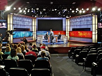 Crossfire (U.S. TV program) - Crossfire studio at the George Washington University in 2005