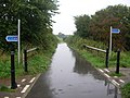 Crossing cycle routes - geograph.org.uk - 248222.jpg