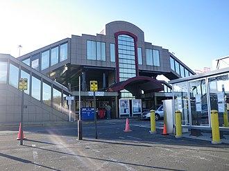 Croton–Harmon station - Image: Croton Harmon station